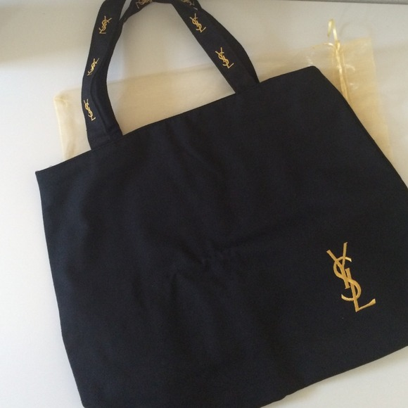 5542d1d5a50 Yves Saint Laurent Accessories   Ysl Tote With Cosmetic Bag New ...