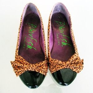 Shoes - Leopard print flats