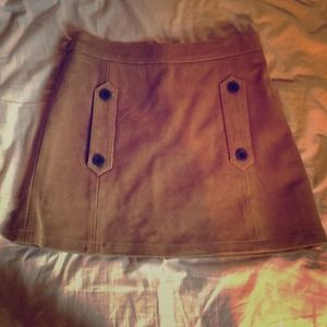 NWT TopShop suede skirt
