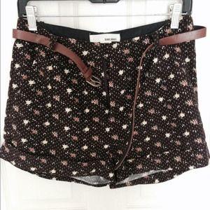 Pants - Sans Souci corduroy shorts