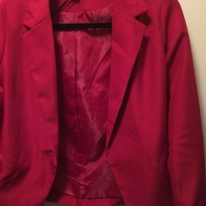 Zenana outfitters red blazer!