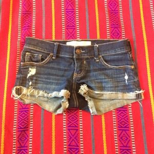 Abercrombie &Fitch denim shorts