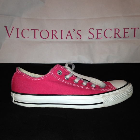 Converse Shoes Pink Victorias Secret All Star Poshmark