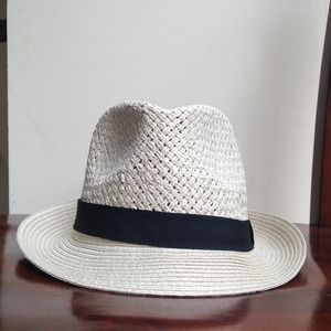 COTTON ON: STRAW FEDORA