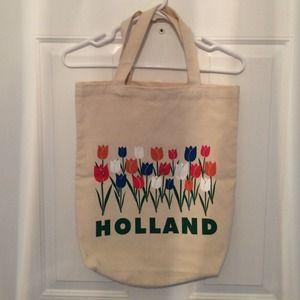 "Handbags - Novelty ""Holland"" Canvas Tote Bag"
