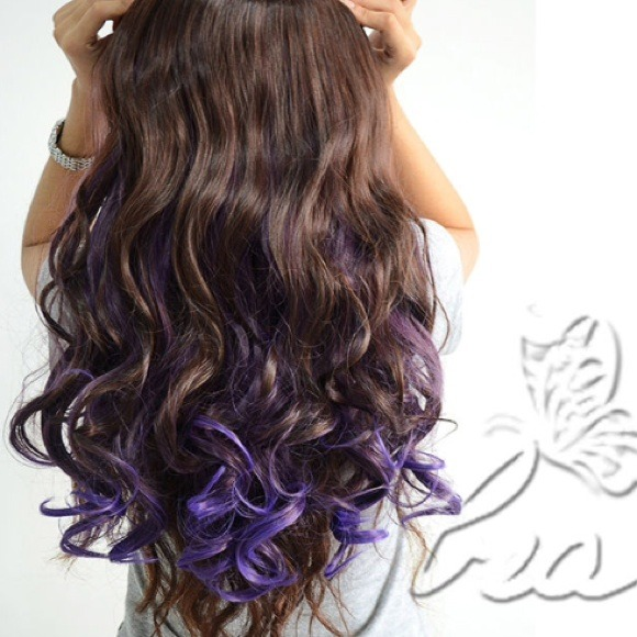 Brown And Purple Hair Extensions Remy Hair Review