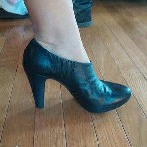 Ankle booties- genuine leather