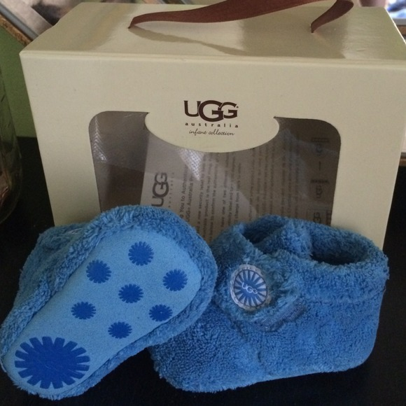 Bixbee newborn UGGs light blue for baby boys