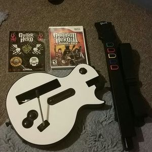 Other - Wii guitar and zumba belt