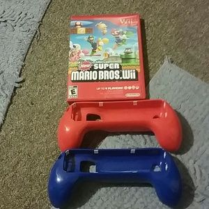 Other - HOLD Super Mario Bros. WII with burger island