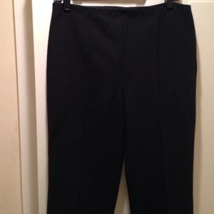 Michael Kors size 10 Black, Front Pleat Pants NWT
