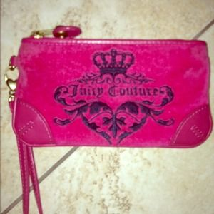 Juicy Couture Pink Wristlet