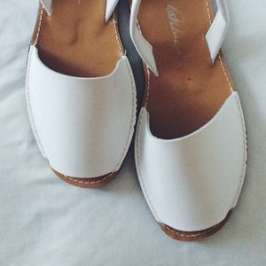 ASOS Shoes - ASOS White Sling Back Sandals