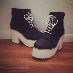 Jeffrey campbell inspired platform boots