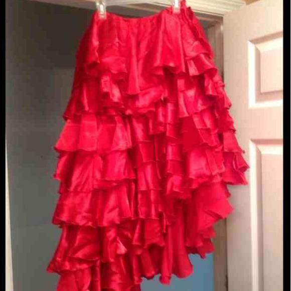 5c901723fa39 Dresses & Skirts - Conga Skirt, Red Dress, Blk & Red Flamenco Dress