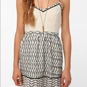 Urban Outfitters 'Staring at Stars' Ikat Dress