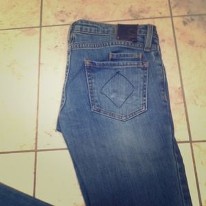 Skinny jeans light denim wash