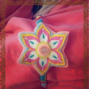 Fun flower headband(:
