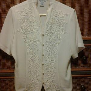 PRICE DROP!!!  Vintage white blouse