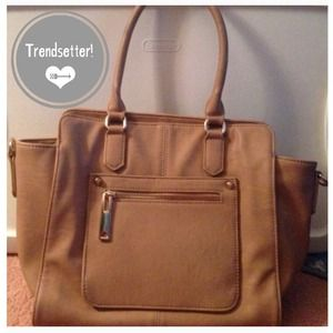 💥 PRICE REDUCED! 💥 nude structured handbag