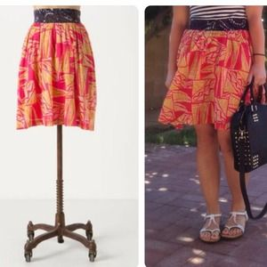 Anthropologie Tamarind Skirt