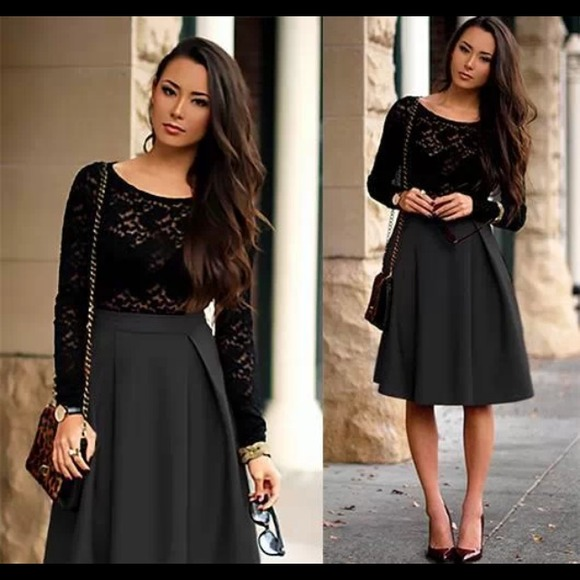 41% off Dresses & Skirts - 24 HOUR SALEGorgeous Black Midi ...
