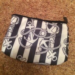 Clutches & Wallets - Anchors Make Up Bag