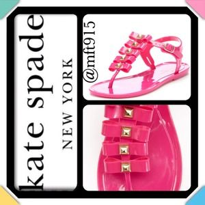 💯Authentic Kate Spade Shoes-fierce jelly Sandal