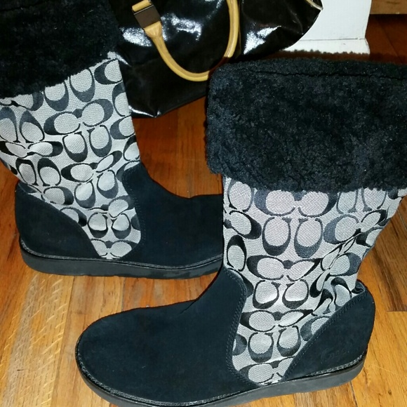 083e1f3a4f6 Coach Ugg Style Boots