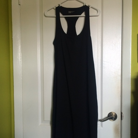 Gap Dresses Black Racerback Body Maxi Dress Poshmark
