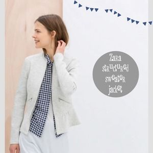 Zara Jackets & Blazers - Zara Sweater Jacket