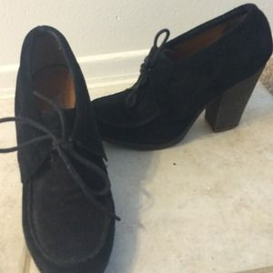 Nine West suede Mary Janes