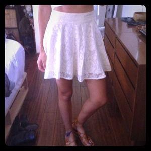 Kimchi Blue White Lace Skirt Size 0