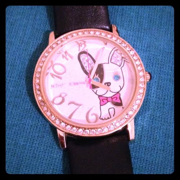 Betsey Johnson Betsey Boston Terrier Watch From Ana S