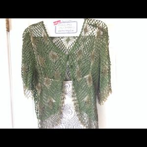 GreatCrocheted Cardigan top