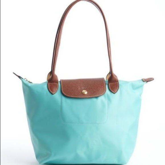 5b56e287d7f1 Longchamp Handbags - NWOT Longchamp le Pliage Large Tote tiffany blue