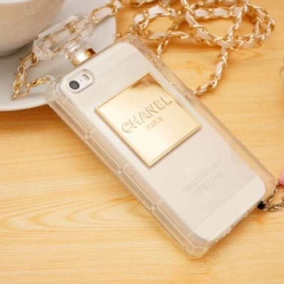 pretty nice 5705b a6032 Clear chanel iPhone case