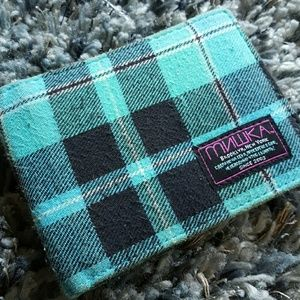 Urban Outfitters Other - MNWKA Brooklyn, NY Plaid Fold Wallet