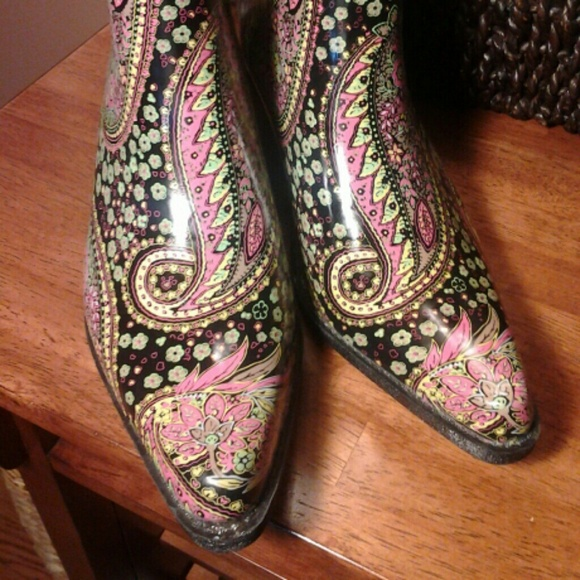Journee Collection - Women's cowboy Rainboots from Trina's closet ...