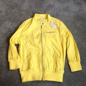 Forever 21 Jackets & Blazers - Yellow bomber jacket