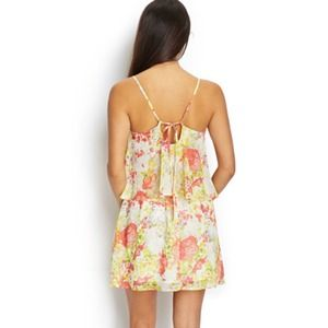 Dresses & Skirts - Floral Tie Back Dress