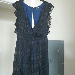Pretty Navy blue dress