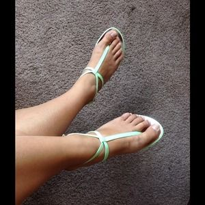 Joe fresh lime summer sandals
