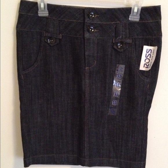 d1c2adc88d Ross Skirts | Dark Jean Skirt | Poshmark