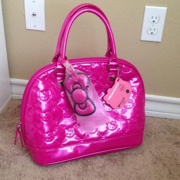 34909f120e Loungefly Handbags - Embossed hello kitty bag