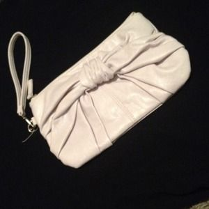 White Forever 21 Clutch