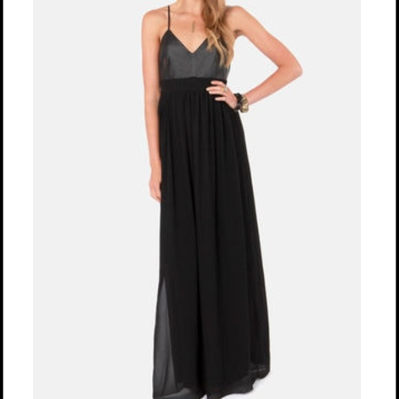 3c5af87814ffc Lulu's Dresses | Holiday Salelulus Black Maxi Dress | Poshmark