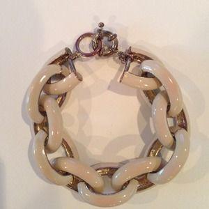 Jewelry - Beige link bracelet