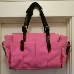 Handbags - PUTU pink canvass  bag
