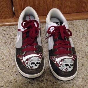 grim reaper nike shoes